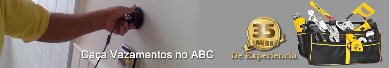 Caça vazamentos no ABC