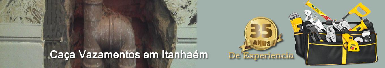 Caça vazamentos em Itanhaem