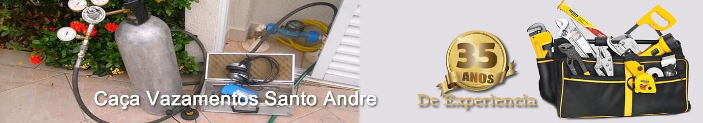 Caça vazamentos em Santo Andre
