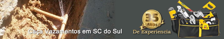 Caça vazamentos São Caetano do Sul