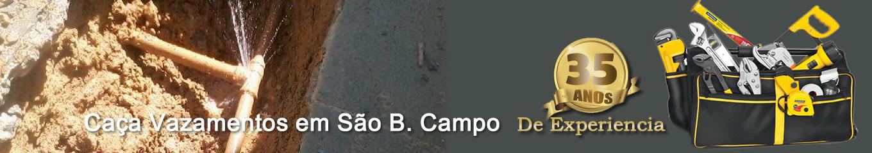 Caça Vazamento em São Bernardo do Campo