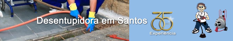 Desentupidora em Santos
