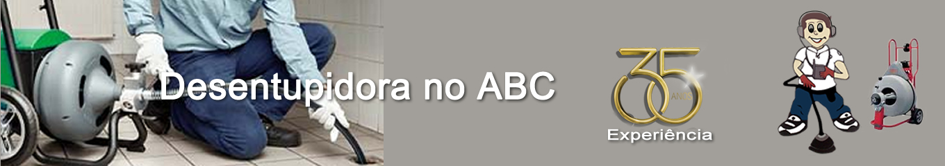 Desentupidora no ABC